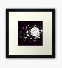 I give you the moon Framed Print