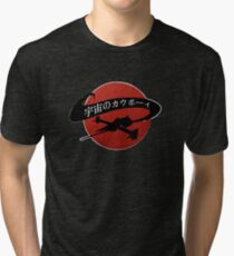 Space Cowboy - Red Sun Tri-blend T-Shirt