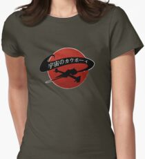 Space Cowboy - Red Sun Women's Fitted T-Shirt