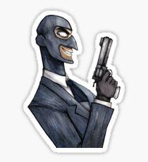 BLU Spy Sticker