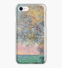 Claude Monet - Antibes In The Morning  iPhone Case/Skin
