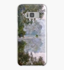 Claude Monet - Morning On The Seine, Near Giverny  Samsung Galaxy Case/Skin