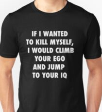 Climb and Jump Slim Fit T-Shirt
