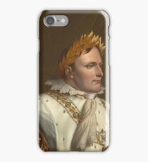 Anne-Louis Girodet-Trioson - Portrait of Napoleon in His Coronation Robes iPhone Case/Skin