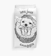 Hedgehog snuggle Duvet Cover