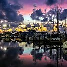 A Postcard Sunset by Mikell Herrick