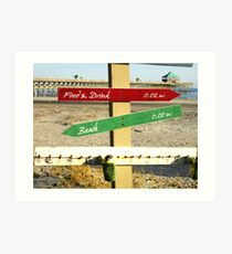 To the Beach by Jan Marvin Art Print