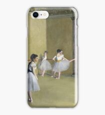 Edgar Degas - The Dance Foyer At The Opera On The Rue Le Peletier iPhone Case/Skin