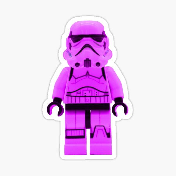 Lego Storm Trooper in Purple Sticker