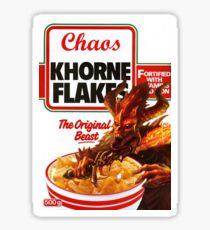 Khorne Flakes Sticker