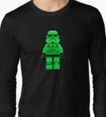 Luminous Green Lego Storm Trooper Long Sleeve T-Shirt