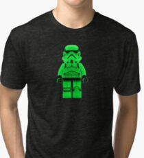 Luminous Green Lego Storm Trooper Tri-blend T-Shirt
