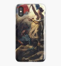 Delacroix - La Liberte Guidant Le Peuple - Freedom iPhone Case/Skin