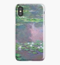 Claude Monet - Water Lilies 9 iPhone Case/Skin