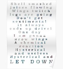 Let Down Poster