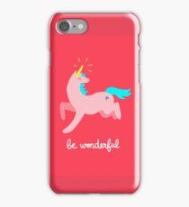 Wonderful Unicorn iPhone Case/Skin