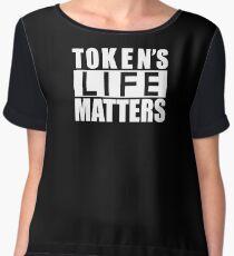 Token's Life Matters Chiffon Top