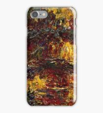Claude Monet - The Japanese Footbridge, Giverny ( 1922)  iPhone Case/Skin