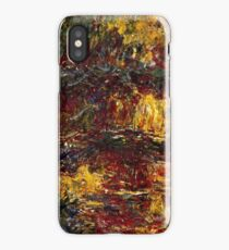 Claude Monet - The Japanese Footbridge, Giverny ( 1922)  iPhone Case/Skin