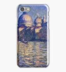 Claude Monet - The Grand Canal And Santa Maria Della Salute iPhone Case/Skin