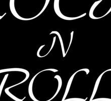 Rock n Roll pick Sticker
