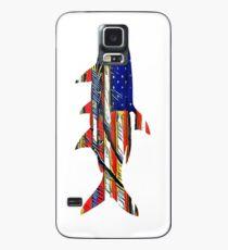 Funda/vinilo para Samsung Galaxy Tarpon de bandera de Estados Unidos