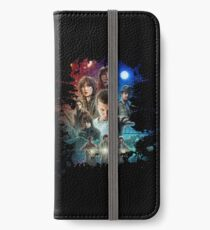 Strange Splatter iPhone Wallet/Case/Skin