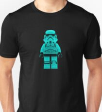 Turquoise Blue Lego Storm Trooper T-Shirt