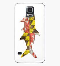 Funda/vinilo para Samsung Galaxy Tarpon Bandera de Maryland