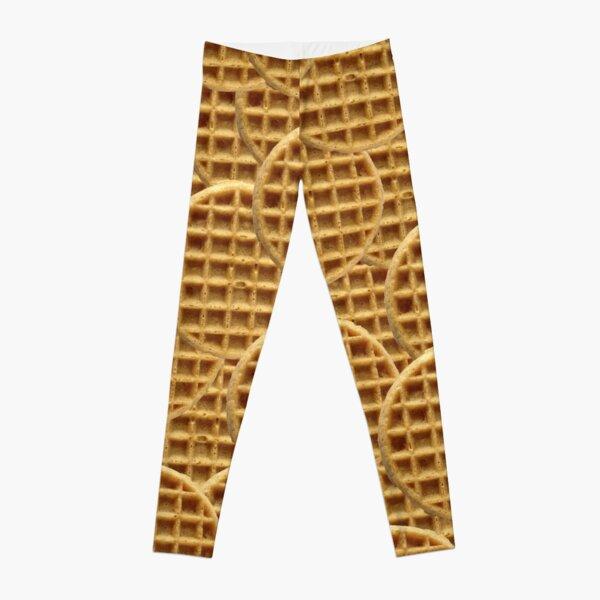 Waffle Pattern Leggings
