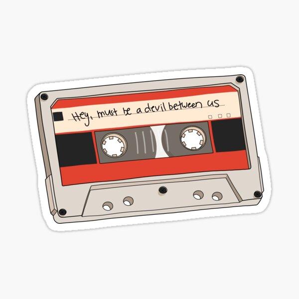 Must Be A Devil Between Us Mixtape (Fear Street) Sticker