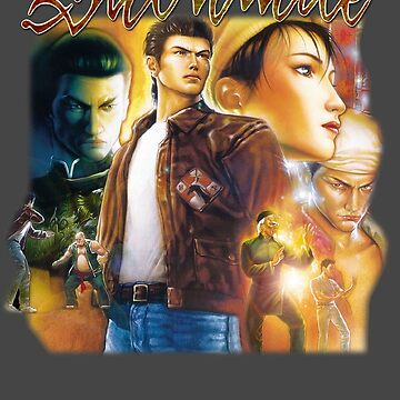 Shenmue 2 - Box Art by mouseteeeeeth