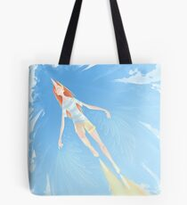 The Flying Cyborg Tote Bag