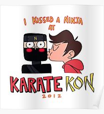 Marco's Karate Kon -Star vs the forces of evil- Poster