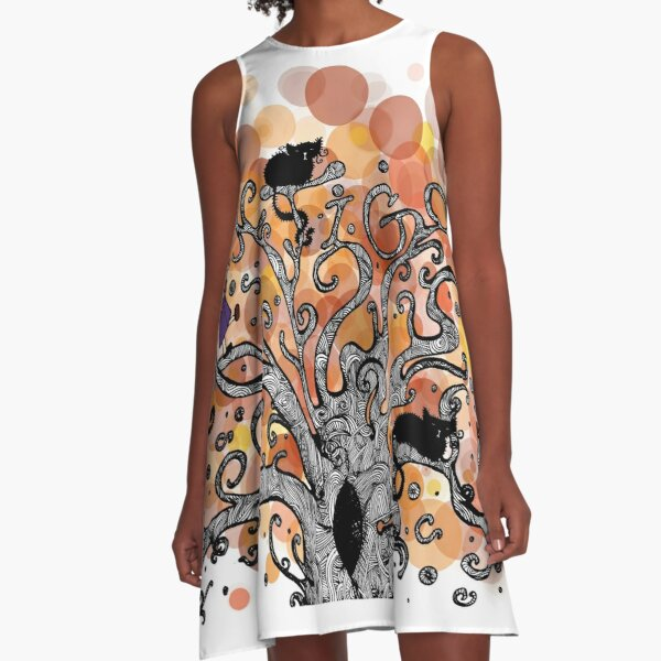 Antigone A-Line Dress