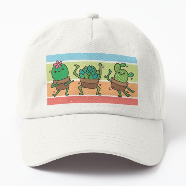 Dancing succulents Dad Hat