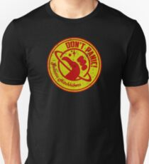 Galactic Hitchhikers Red and Gold T-Shirt