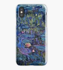 Claude Monet - Nympheas (1914 - 1917)  iPhone Case/Skin