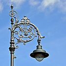 Antique lamppost - Dublin - Ireland by Arie Koene