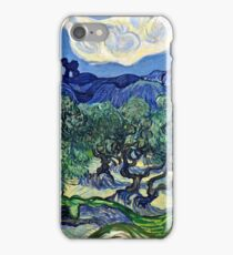 Vincent Van Gogh -  Olive Trees, 1889  iPhone Case/Skin