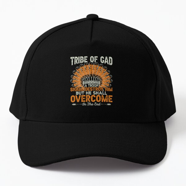 tribe of gad a troop shall destory him but he shall overcome in the end Baseball Cap