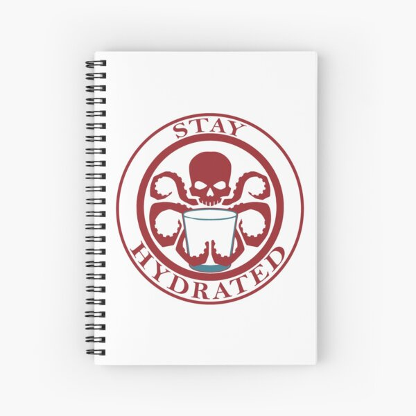 Stay Hydrated Spiral Notebook