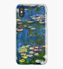 Claude Monet - Water Lilies (1916)  iPhone Case/Skin