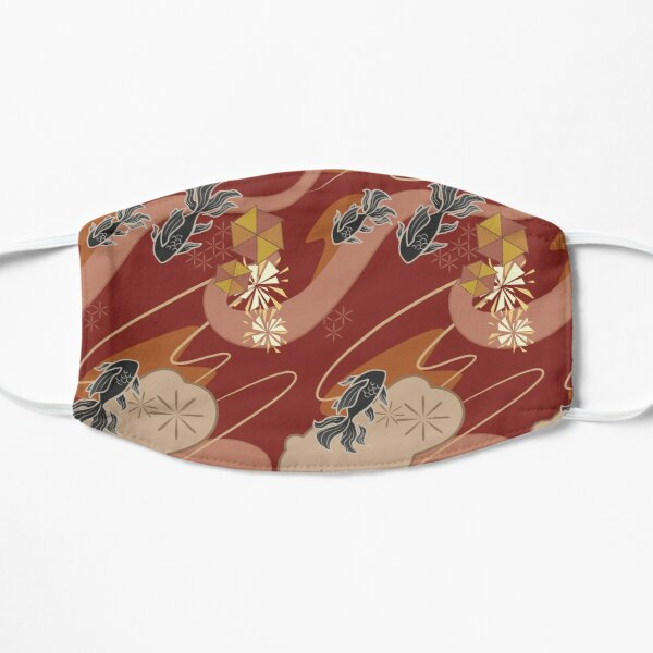 Yoimiya Pattern Flat Mask