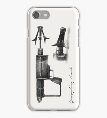 Grappling Hook Schematics  iPhone Case/Skin