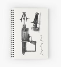 Grappling Hook Schematics  Spiral Notebook