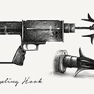 Grappling Hook Schematics  by studioofmm