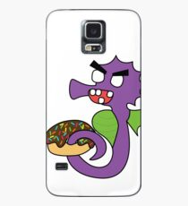 zombie seahorse dangles a donut Case/Skin for Samsung Galaxy
