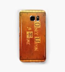 Once Upon A Time - Colorful Book Cover Samsung Galaxy Case/Skin