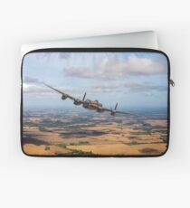 Home stretch: Lancaster over England Laptop Sleeve